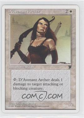 1995 Magic: The Gathering - Chronicles Booster Pack White Border Compilation Set #NoN - Legends - D'Avenant Archer