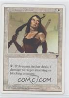 Legends - D'Avenant Archer