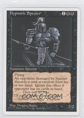 1995 Magic: The Gathering - Core Set 4th Edition Booster Pack [Base] #NoN - Hypnotic Specter