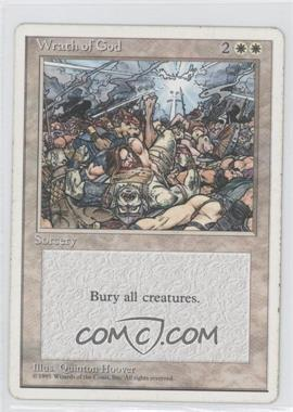 1995 Magic: The Gathering - Core Set 4th Edition Booster Pack [Base] #NoN - Wrath of God