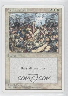 1995 Magic: The Gathering - Core Set: 4th Edition Booster Pack [Base] #NoN - Wrath of God