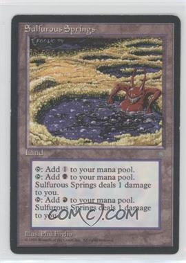 1995 Magic: The Gathering - Ice Age - Booster Pack [Base] #NoN - Sulfurous Springs