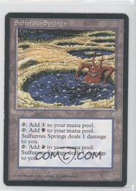 1995 Magic: The Gathering - Ice Age Booster Pack [Base] #NoN - Sulfurous Springs