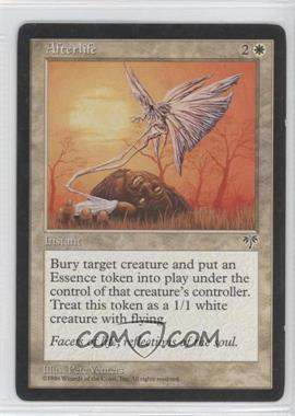 1996 Magic: The Gathering - Mirage Booster Pack [Base] #NoN - Afterlife