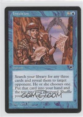 1997 Magic: The Gathering - Tempest - Booster Pack [Base] #NoN - Intuition