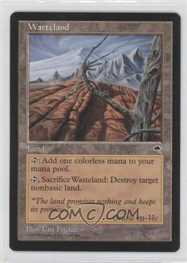1997 Magic: The Gathering - Tempest - Booster Pack [Base] #NoN - Wasteland