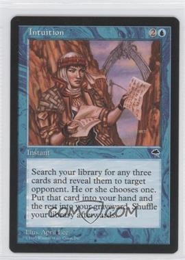 1997 Magic: The Gathering - Tempest Booster Pack [Base] #NoN - Intuition