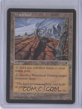 1997 Magic: The Gathering - Tempest Booster Pack [Base] #NoN - Wasteland
