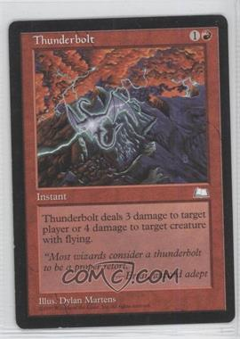 1997 Magic: The Gathering - Weatherlight Booster Pack [Base] #NoN - Thunderbolt