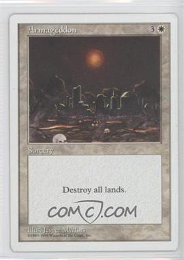 1998 Magic: The Gathering - Anthologies (5th Anniversary) White Bordered Box Set #NoN - Armageddon