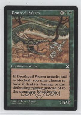 1998 Magic: The Gathering - Portal Starter Set 2nd Age #N/A - Deathcoil Wurm