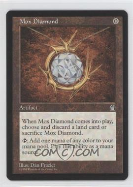 1998 Magic: The Gathering - Stronghold Booster Pack [Base] #NoN - Mox Diamond