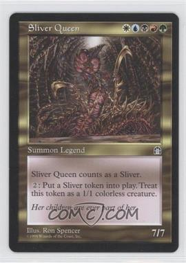 1998 Magic: The Gathering - Stronghold Booster Pack [Base] #NoN - Sliver Queen