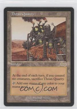 1998 Magic: The Gathering - Urza's Saga - Booster Pack [Base] #329 - Thran Quarry
