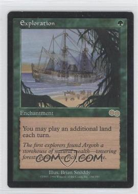 1998 Magic: The Gathering - Urza's Saga Booster Pack [Base] #250 - Exploration