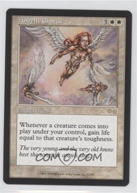 1998 Magic: The Gathering - Urza's Saga Booster Pack [Base] #3 - Angelic Chorus