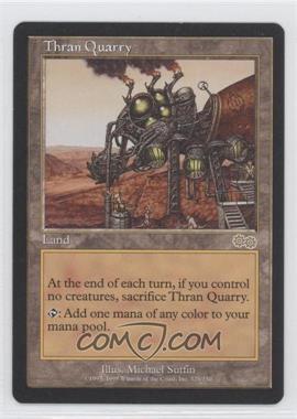 1998 Magic: The Gathering - Urza's Saga Booster Pack [Base] #329 - Thran Quarry