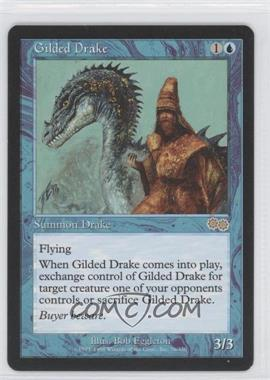 1998 Magic: The Gathering - Urza's Saga Booster Pack [Base] #76 - Gilded Drake