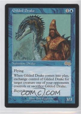 1998 Magic: The Gathering - Urza's Saga Booster Pack [Base] #76 - Gilded Drake