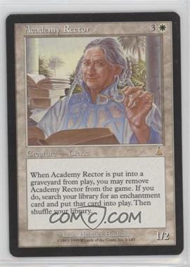 1999 Magic: The Gathering - Urza's Destiny - Booster Pack [Base] #1 - Academy Rector