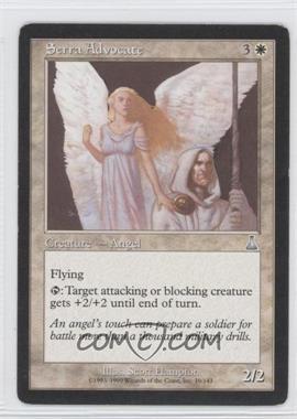 1999 Magic: The Gathering - Urza's Destiny - Booster Pack [Base] #19 - Serra Advocate