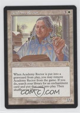 1999 Magic: The Gathering - Urza's Destiny Booster Pack [Base] #1 - Academy Rector