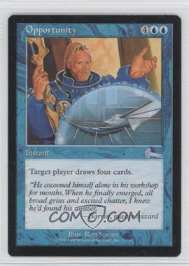 1999 Magic: The Gathering - Urza's Legacy Booster Pack [Base] #37 - Opportunity