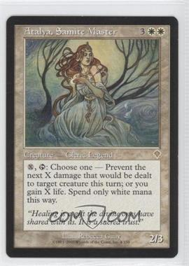 2000 Magic: The Gathering - Invasion - Booster Pack [Base] #4 - Atalya, Samite Master