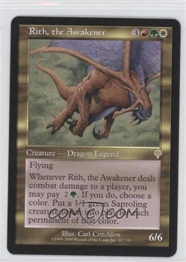 2000 Magic: The Gathering - Invasion Booster Pack [Base] #267 - Rith, the Awakener