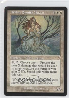 2000 Magic: The Gathering - Invasion Booster Pack [Base] #4 - Atalya, Samite Master