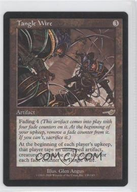 2000 Magic: The Gathering - Nemesis Booster Pack [Base] #139 - Tangle Wire