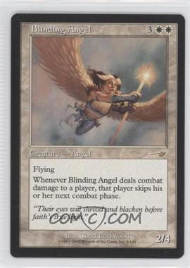2000 Magic: The Gathering - Nemesis Booster Pack [Base] #3 - Blinding Angel