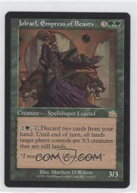 2000 Magic: The Gathering - Prophecy - Booster Pack [Base] #115 - Jolrael, Empress of Beasts