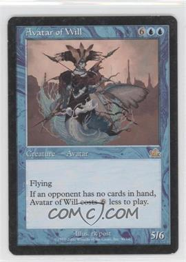 2000 Magic: The Gathering - Prophecy - Booster Pack [Base] #30 - Avatar of Will