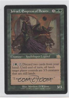 2000 Magic: The Gathering - Prophecy Booster Pack [Base] #115 - Jolrael, Empress of Beasts