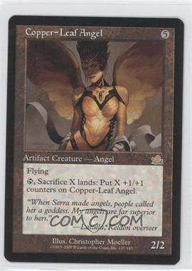 2000 Magic: The Gathering - Prophecy Booster Pack [Base] #137 - Copper-Leaf Angel