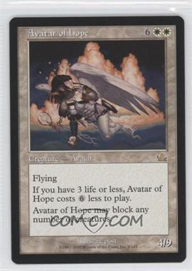 2000 Magic: The Gathering - Prophecy Booster Pack [Base] #3 - Avatar of Hope