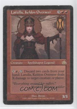 2000 Magic: The Gathering - Prophecy Booster Pack [Base] #95 - Latulla, Keldon Overseer