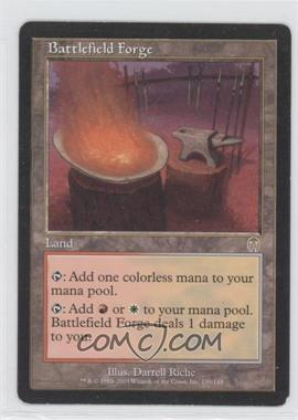 2001 Magic: The Gathering - Apocalypse - Booster Pack [Base] #139 - Battlefield Forge