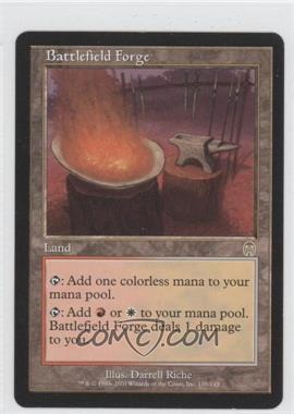 2001 Magic: The Gathering - Apocalypse Booster Pack [Base] #139 - Battlefield Forge