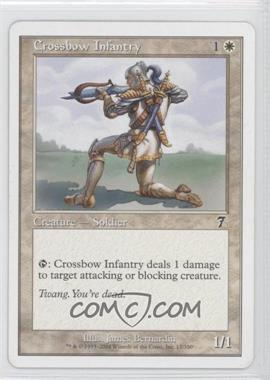2001 Magic: The Gathering - Core Set: 7th Edition Booster Pack [Base] #12 - Crossbow Infantry