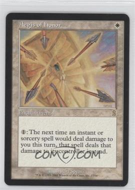 2001 Magic: The Gathering - Odyssey Booster Pack [Base] #1 - Aegis of Honor
