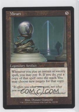 2001 Magic: The Gathering - Odyssey Booster Pack [Base] #303 - Mirari