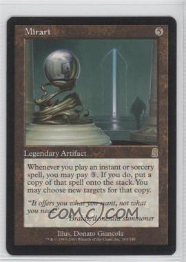 2001 Magic: The Gathering - Odyssey Booster Pack [Base] #303 - Mirari