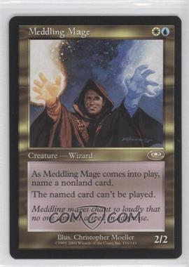 2001 Magic: The Gathering - Planeshift - Booster Pack [Base] #116 - Meddling Mage