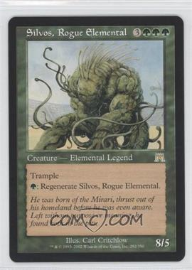 2002 Magic: The Gathering - Onslaught Booster Pack [Base] #282 - Silvos, Rogue Elemental
