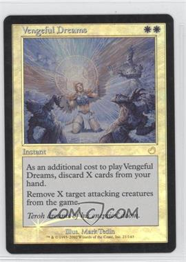 2002 Magic: The Gathering - Torment Booster Pack [Base] Foil #21 - Vengeful Dreams