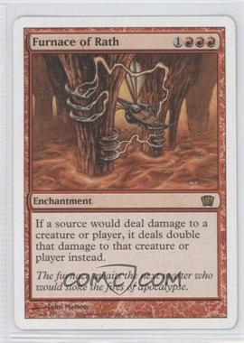 2003 Magic: The Gathering - Core Set: 8th Edition Booster Pack [Base] #187 - Furnace of Rath