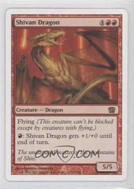 2003 Magic: The Gathering - Core Set: 8th Edition Booster Pack [Base] #221 - Shivan Dragon