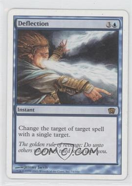 2003 Magic: The Gathering - Core Set: 8th Edition Booster Pack [Base] #74 - Deflection